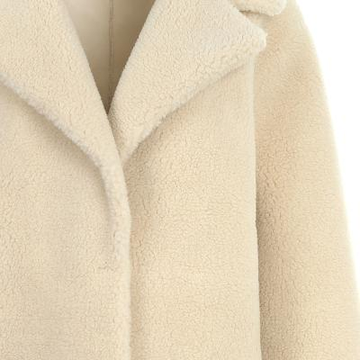 fluffy long coat ivory 6